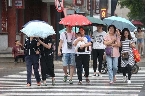 开封:雨儿飘飘 天气凉爽